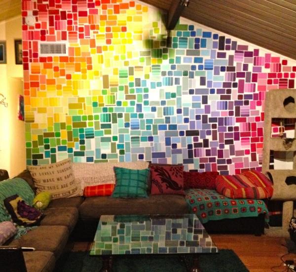 pracht farben bunt wohnzimmer orientalisch wandfarben wohnzimmer