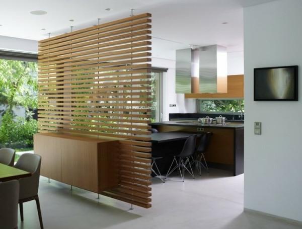 30 raumteiler ideen - von paravent bis regal für jeden geschmack - Raumteiler Wohnzimmer Modern