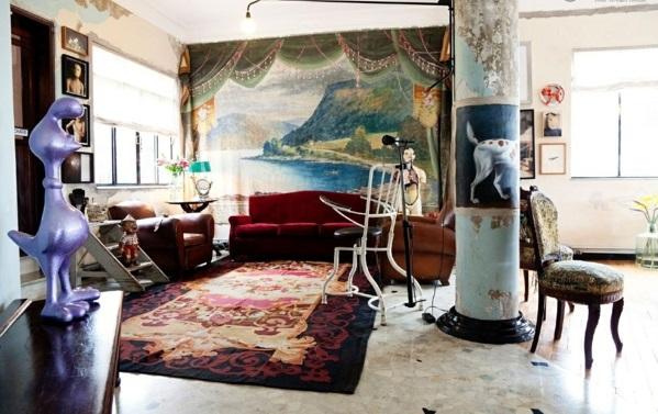 richtig kunstwerk reich farben stile texturen wandfarben wohnzimmer