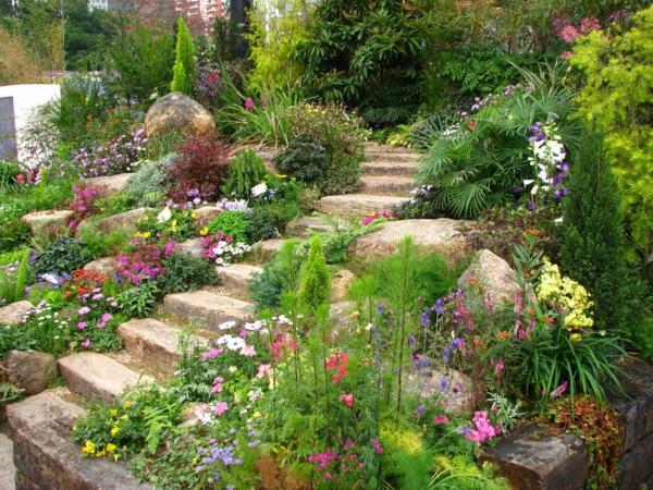 Elegant 50 Moderne Gartengestaltung Ideen ...