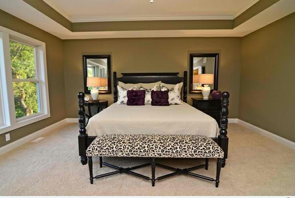 15 reizende schlafzimmer ideen mit leopard akzenten. Black Bedroom Furniture Sets. Home Design Ideas