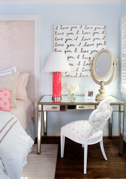 schlafzimmer deko schminktisch dekoideen
