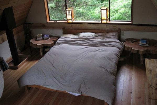 schlafzimmer feng shui laternen asiatisch look waldhaus