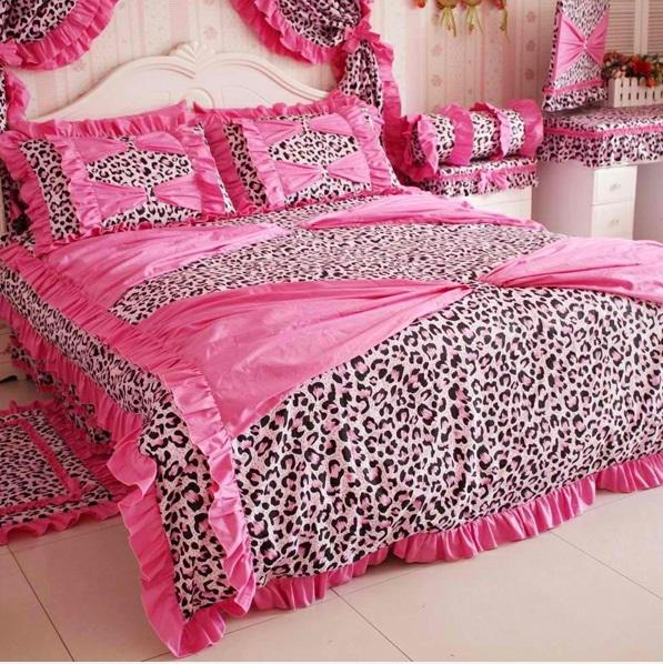 schlafzimmer ideen das bett in rosa