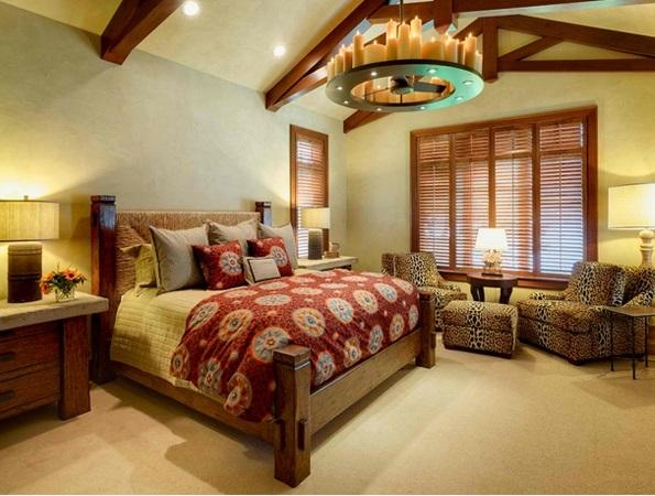 schlafzimmer ideen kleine sitzecke  kronleuchter
