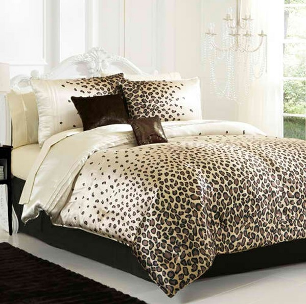 schlafzimmer in braun und weiß