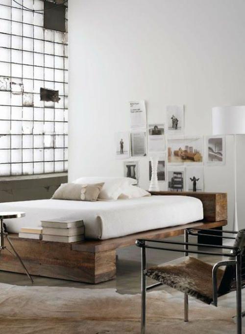 Schlafzimmer Ideen Wandgestaltung ~ schlafzimmer wandgestaltung mnimalistisch asiatisch holz bettpfosten