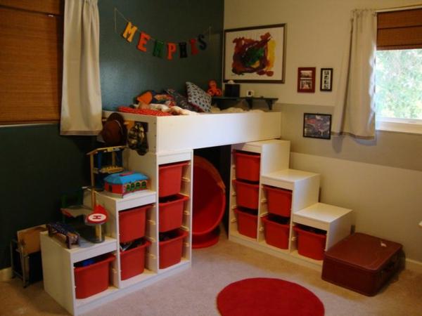 schrank gestaltung für kinderzimmer mehr lagerraum körbe