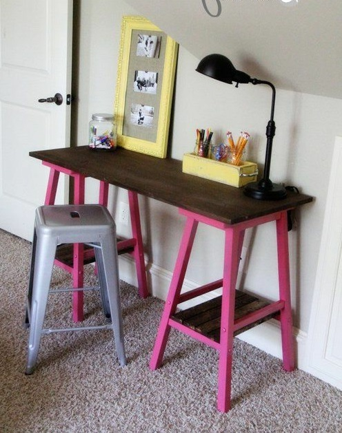 Schreibtisch holz selber bauen  ▷ 1001+ Ideen für Schreibtisch selber bauen - Freshideen