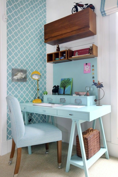 Schreibtisch selber bauen 60 stilvolle diy ideen f r sie for Schreibtisch dekorieren diy