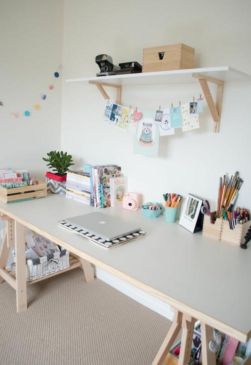Kinderschreibtisch selber bauen  ▷ 1001+ Ideen für Schreibtisch selber bauen - Freshideen