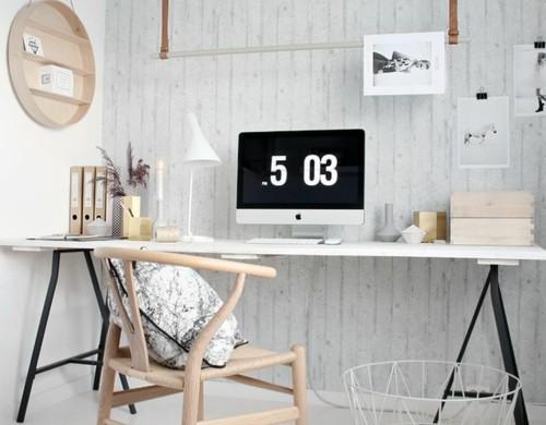 diy projekt schreibtisch selber bauen 25 inspirierende beispiele. Black Bedroom Furniture Sets. Home Design Ideas