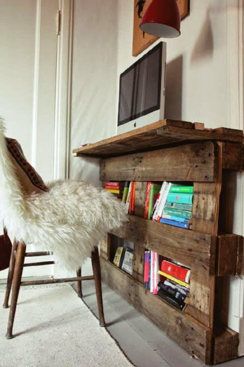 Schreibtisch Selber Bauen Home Office Diy Ideen Europalette