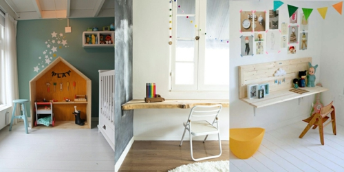 Schreibtisch Selber Bauen Naturholz Holzbrett Diy Ideen