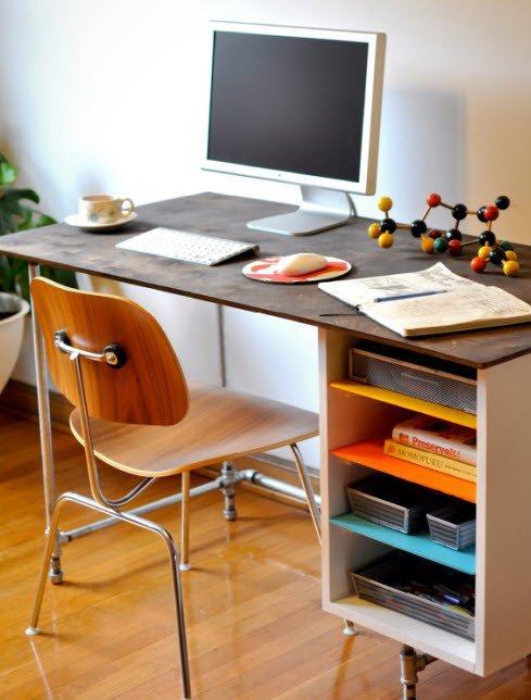 Schreibtisch Selber Bauen Kühles Moderne Dekoration : Schreibtisch  Uncategorized Moderne .