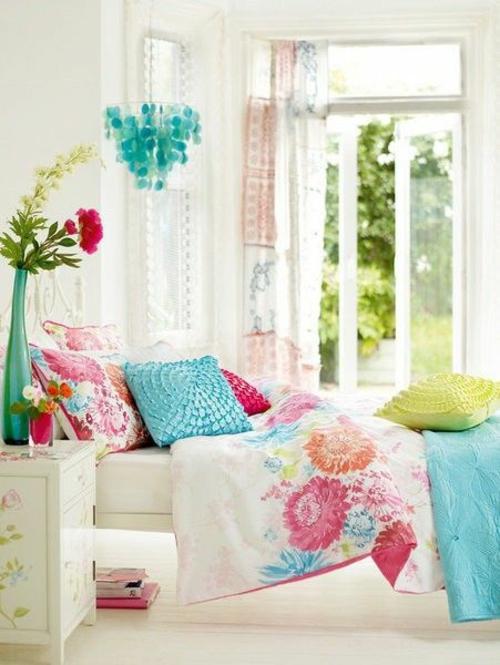 sommer stimmung farben luftig design mädchen