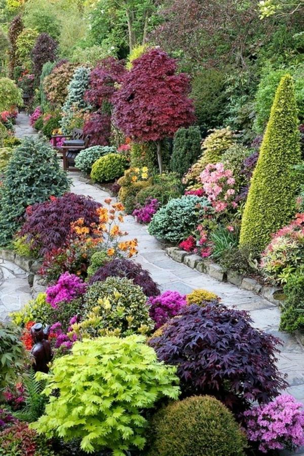 122 Bilder Zur Gartengestaltung - Stilvolle Gartenideen Für Sie Ein Hubsches Blumenbeet Planen