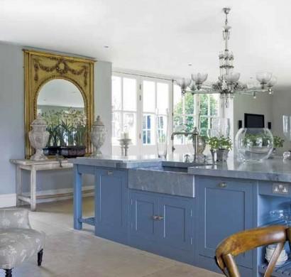 50 moderne Landhausküchen - Küchenplanung und rustikale Küchenmöbel | {Moderne landhausküchen 28}