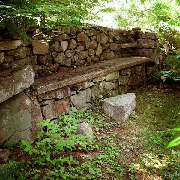gartenabgrenzungen aus stein | möbelideen, Gartengestaltung