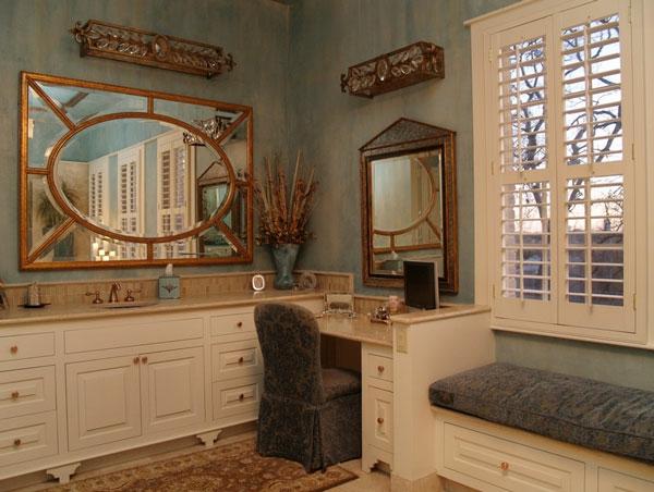 stilvolle frisierkommode großartige spiegel bank sessel schrank