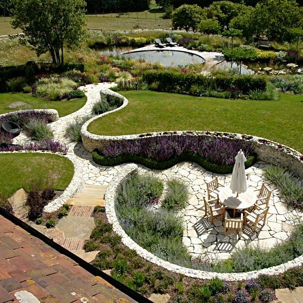 steingarten bilder beispiele, steingarten kreativ gestalten - 30 bilder und individuelle gartenideen, Design ideen