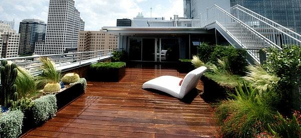 terrasse garten dach holz liege möbel set