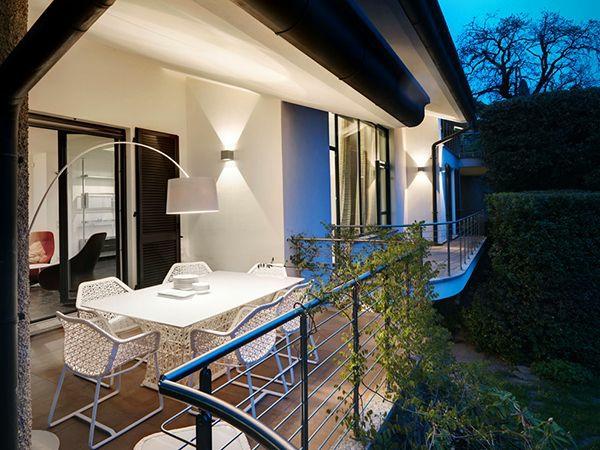 terrasse modern gestalten tolle beleuchtung
