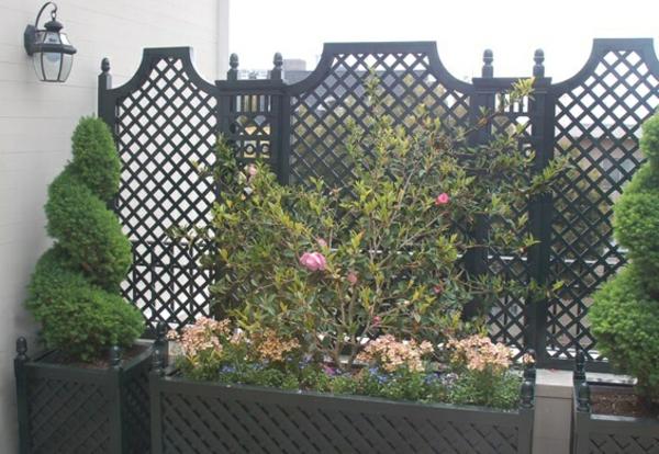 Gartenmobel Holz Aufarbeiten : Terrassensichtschutz – eine sichere Privatsphäre unter freiem