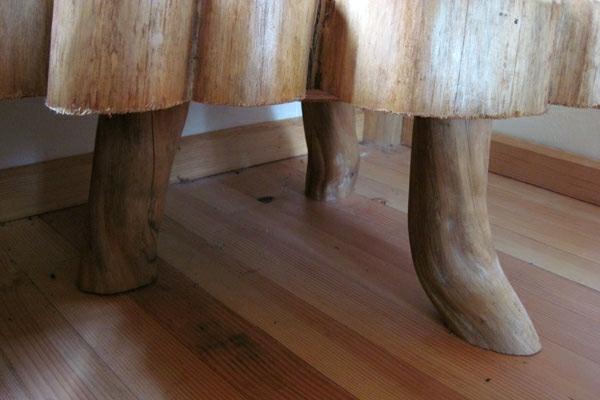 tischbeine holz bodenbelag holzplatten robust waldhaus asiatisch