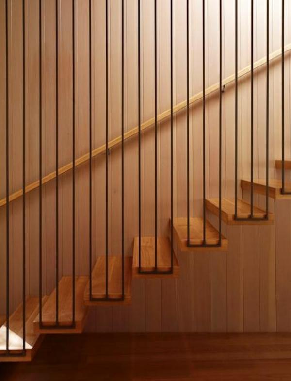 Treppen Ohne Gel Nder 101 moderne treppen erscheinen als blickfang in ihrer wohnung