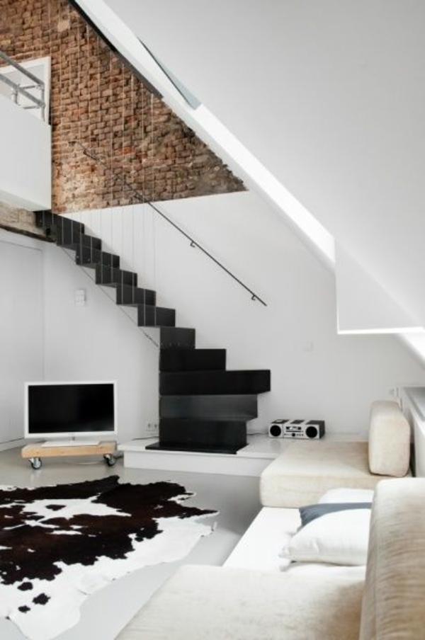 Wundervoll Wohnzimmer Stein Tapete Schwarz Wohnzimmer Tausende Fotosammlung Von 2017  Modernes