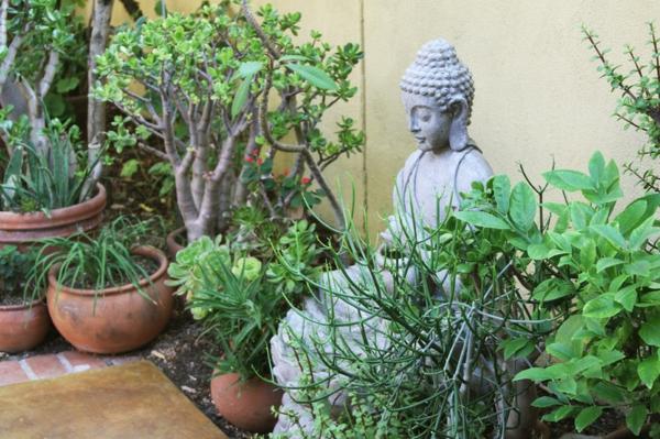 umgebung buddha statue garten entspannen geist