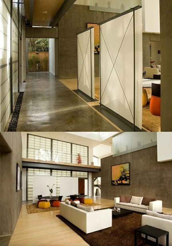 30 raumteiler ideen von paravent bis regal f r jeden. Black Bedroom Furniture Sets. Home Design Ideas