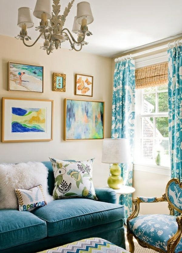 vielfalt gemälde wandfarben wohnideen wohnzimmer