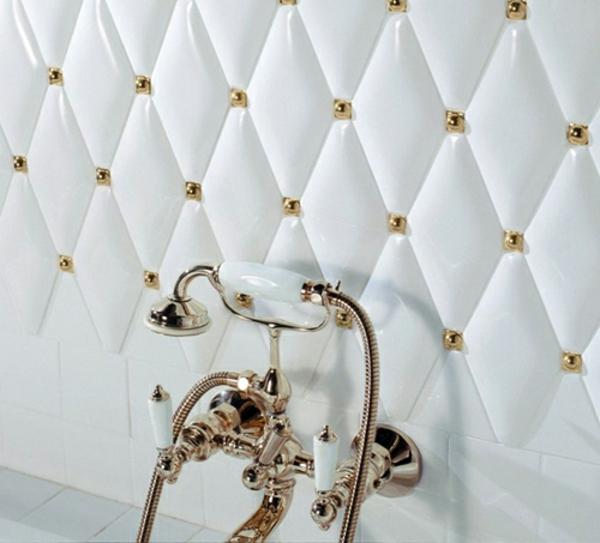 viktorianisch epoche weiß badezimmer fliesen ideen