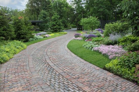 vorgarten und einfahrt gestalten - praktische gartengestaltung ideen, Garten ideen