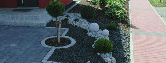 vorgarten steinen gestalten bilder – actof, Garten ideen