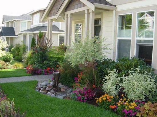 vorgartengestaltung beispiele | tymbios, Garten seite
