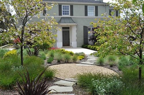 vorgartengestaltung mit kies - 15 vorgarten ideen, Garten und erstellen