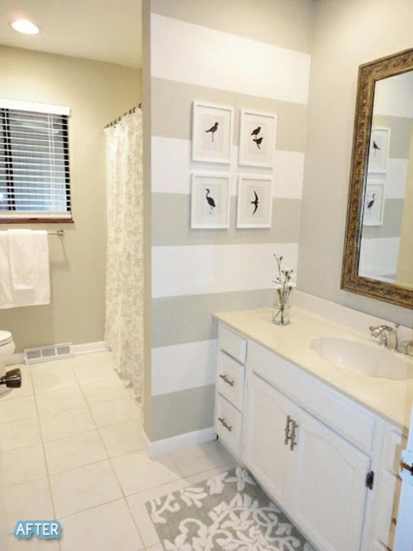 50 Wandmuster - Bringen Sie Kolorit In Ihre Wohnung Hinein Badezimmer Wanddekoration