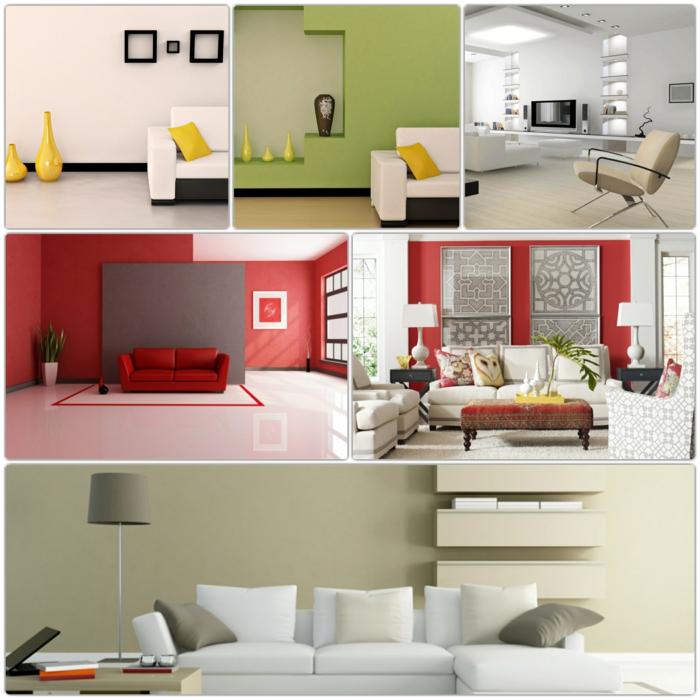 Wohnzimmer tapeten wohnzimmer gelb : Wohnzimmer Wände Streichen Ideen Wohnzimmer Wand ...
