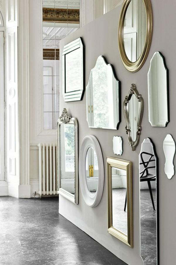 Flur Wandgestaltung Spiegel : Wandgestaltung Im Flur Einrichtungstipps Und Photo Gallery