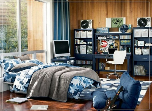 Farbgestaltung fürs Jugendzimmer - 100 Deko- und ...