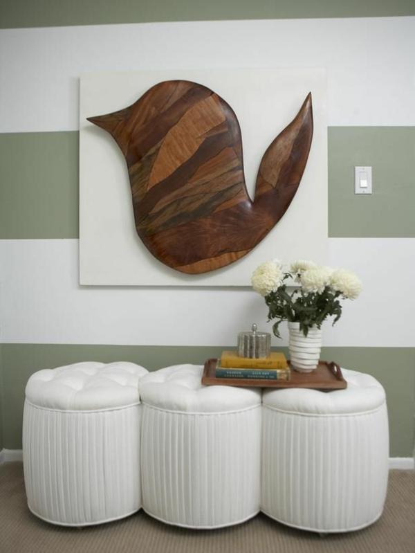 Wanddeko wanddeko mit holz wandgestaltung und wall art ideen for Rustikale wandgestaltung holz