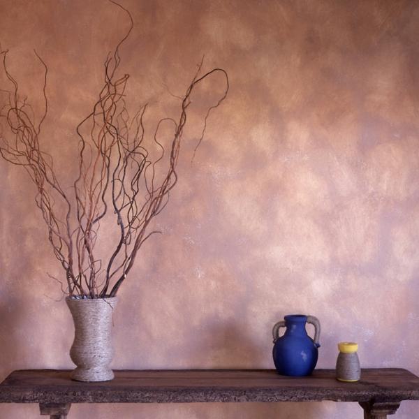 wandlack gedämpft tisch holzplatte familienzimmer