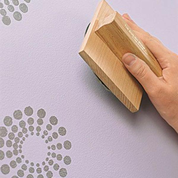50 wandmuster bringen sie kolorit in ihre wohnung hinein. Black Bedroom Furniture Sets. Home Design Ideas