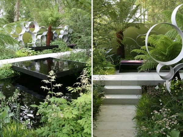 50 moderne gartengestaltung ideen, Garten und Bauten