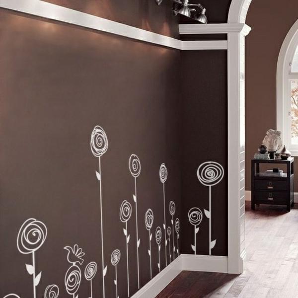 Grn Wei Streifen Auf Wand ~ Verschiedenes Interessantes Design Für,  Wohnzimmer Design