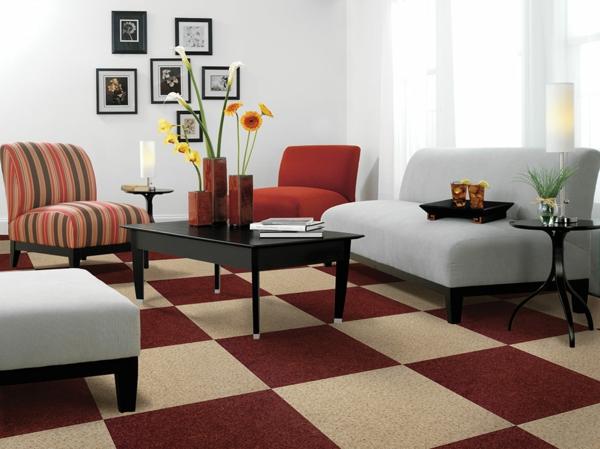 weiß wandfarben attraktiv bodenbelag wohnzimmer