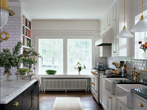 dekoartikel für einrichtungsideen weiße küche rückwandfliesen blumentopf äpfel